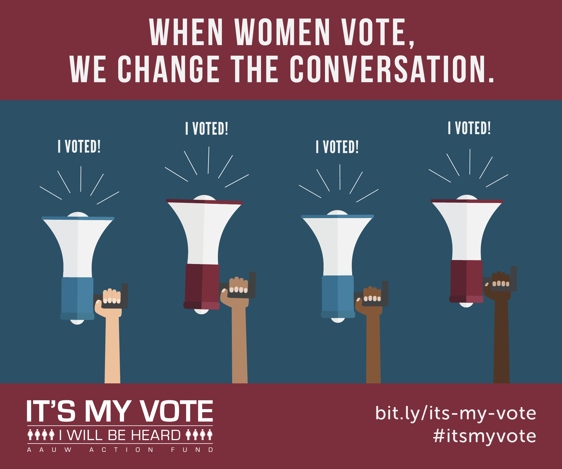 How to Get Out the Vote Using Social Media : AAUW Action Fund